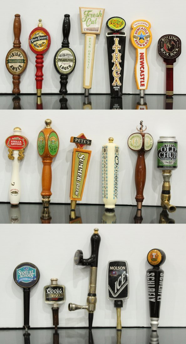18X (Eighteen) Beer tap handles