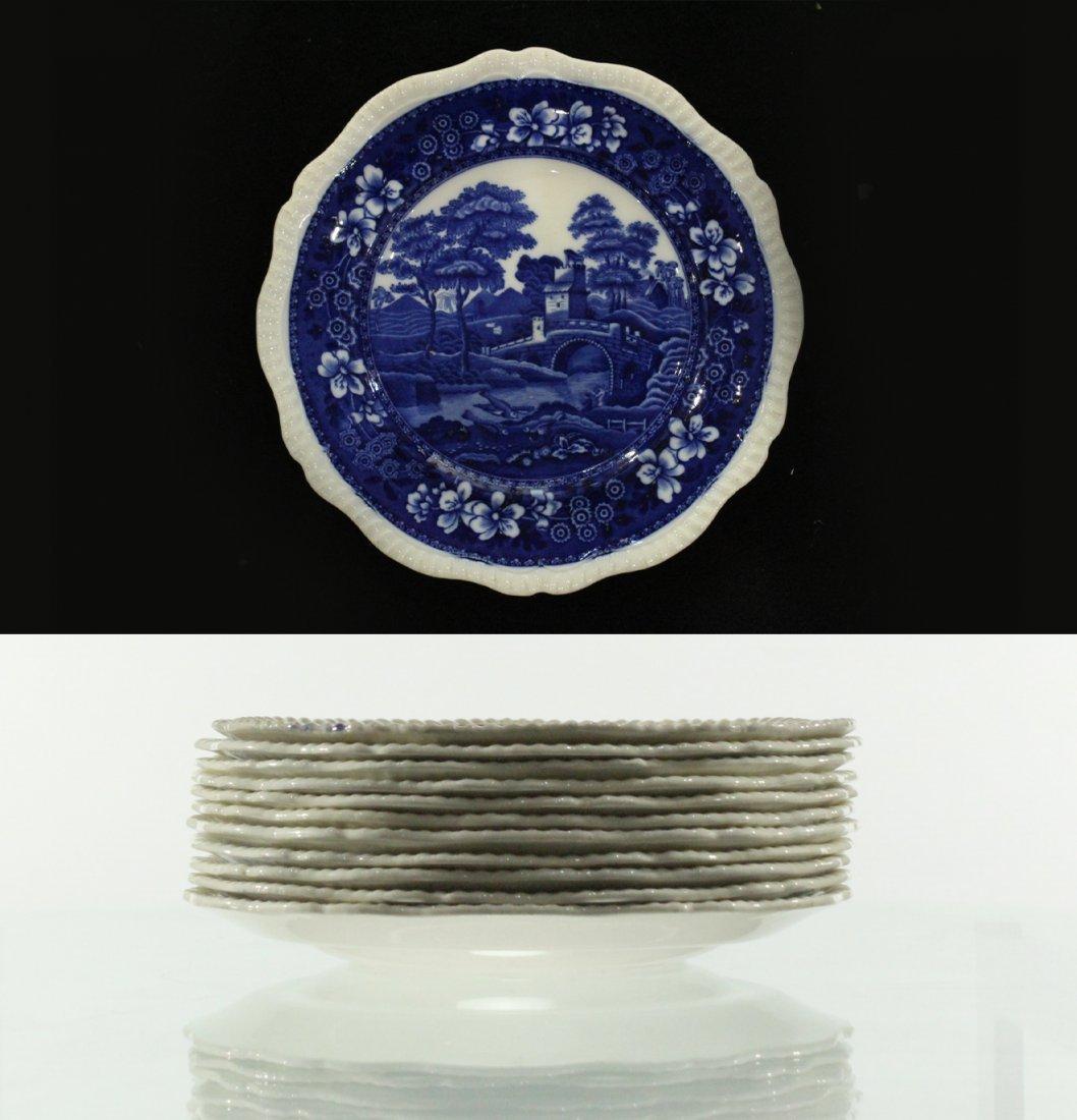Copeland Spode's tower plates England