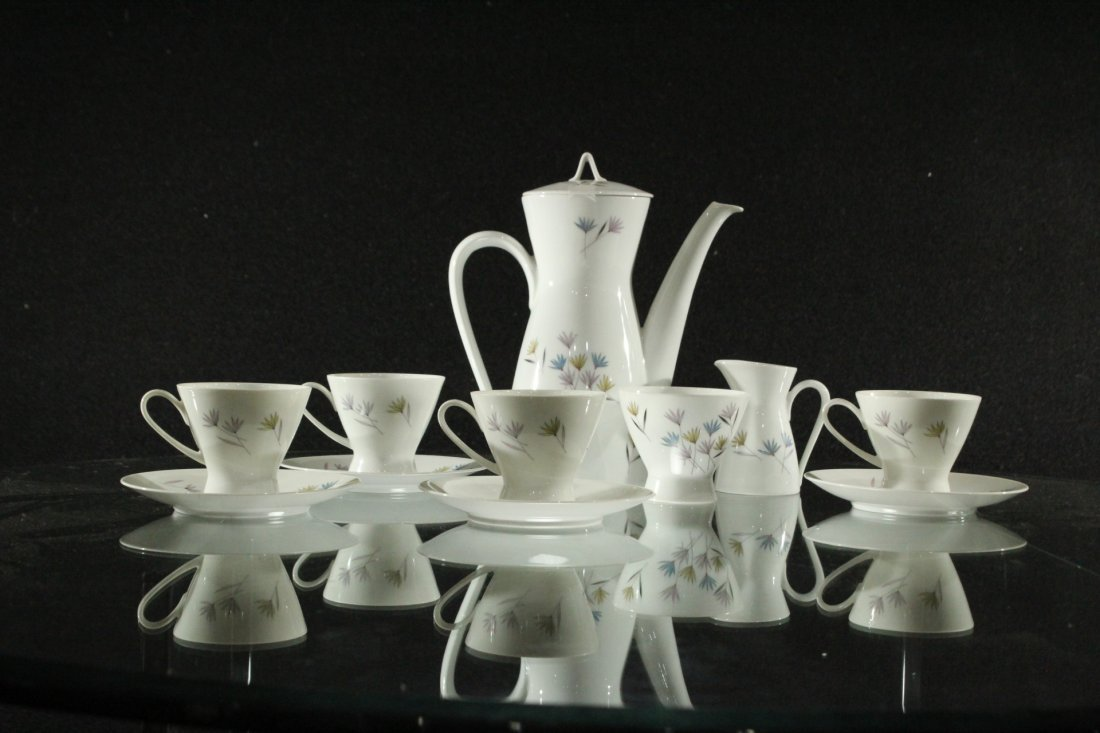11pc  Rosenthal Germany tea set