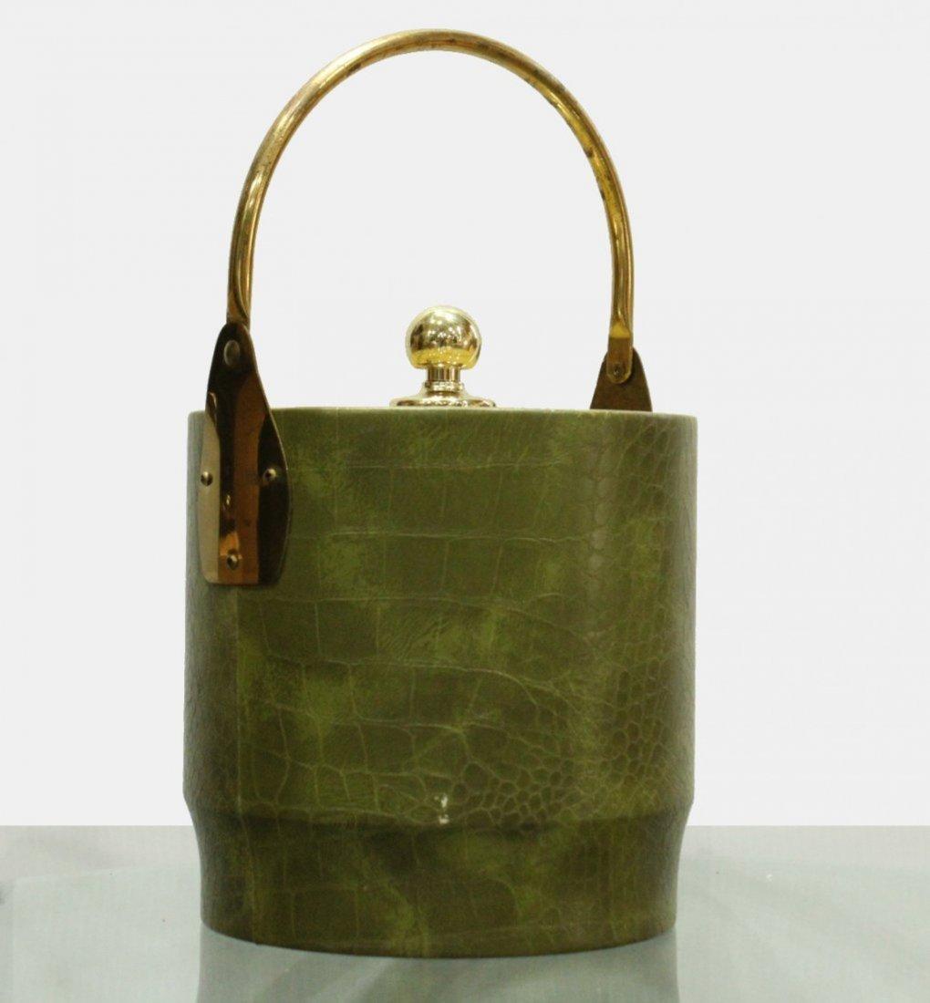 Bucket Brigade Mid-century Modern Ice bucket