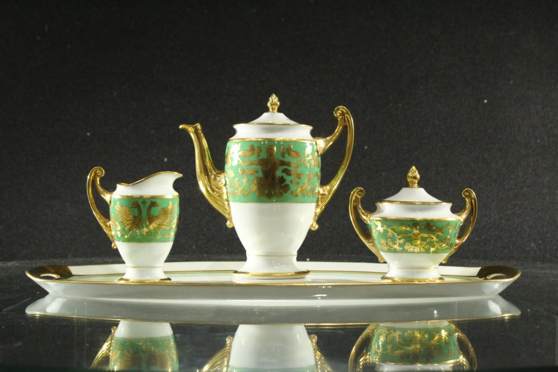 Carlsbad Fine porcelian FSC Czech Tea set