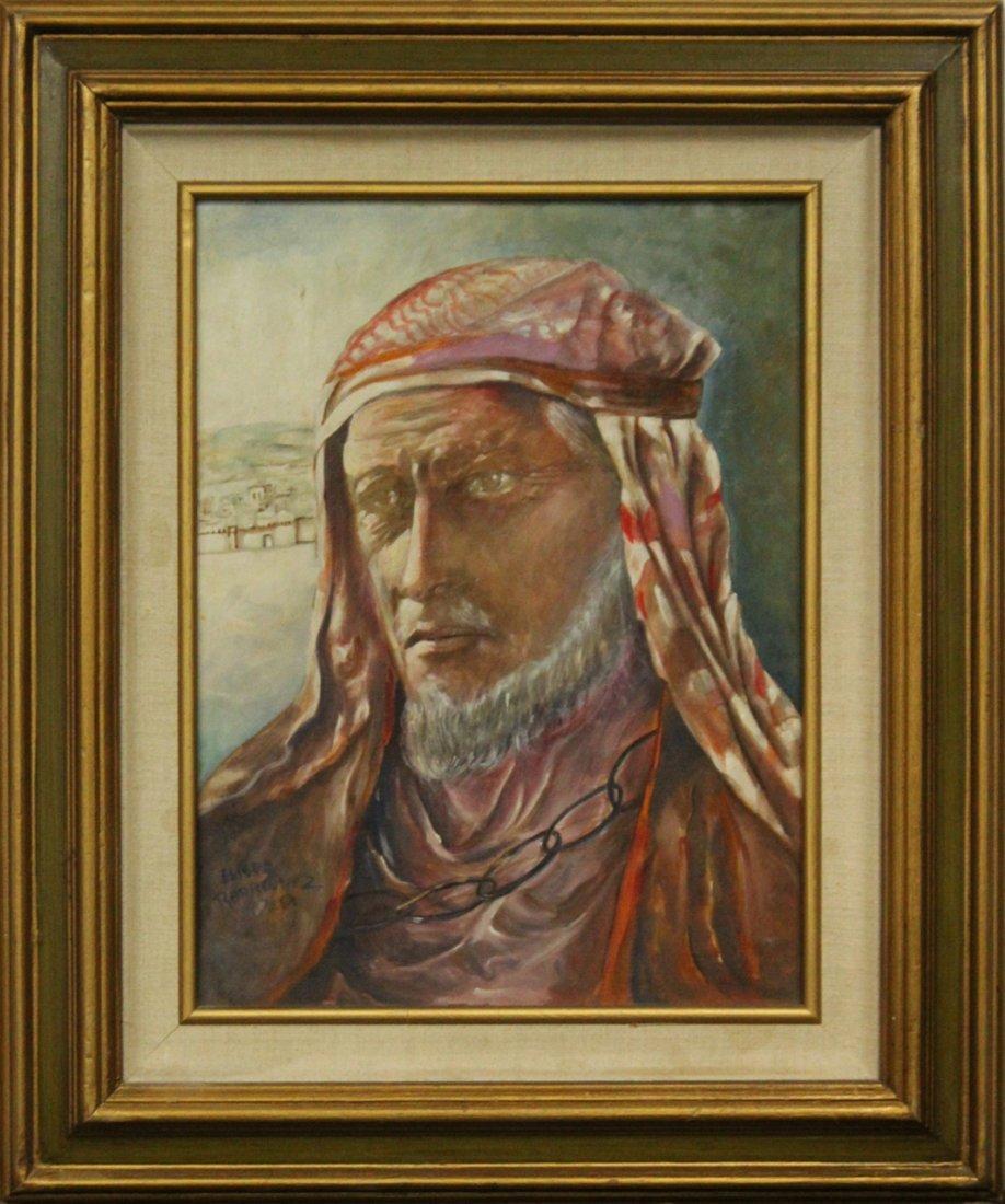 ELISEO JOSE RODRIGUEZ New Mexico Oil Portrait Jeremias