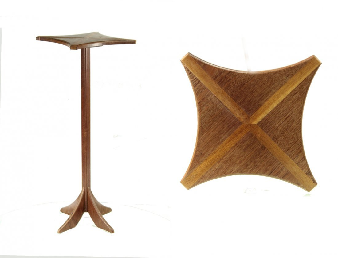 Mid-Century Modern Teak Wood Tall Fern Stand