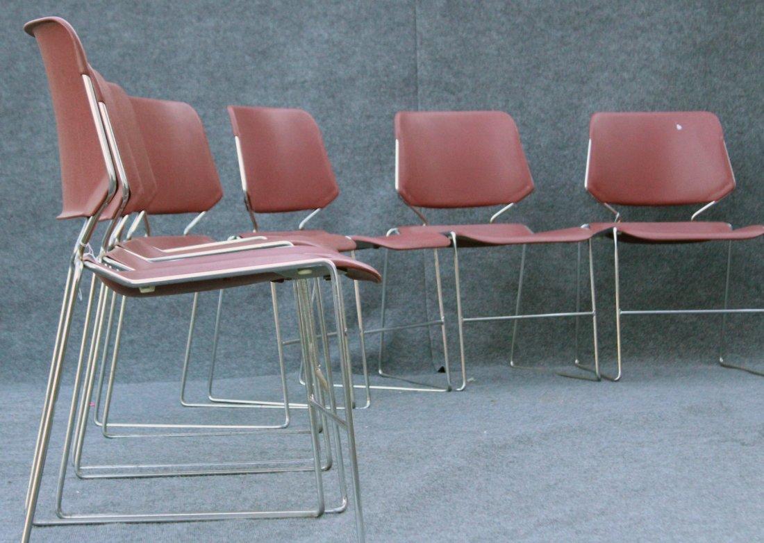 Set Ten [10] KRUEGER MATRIX Stackable Chairs