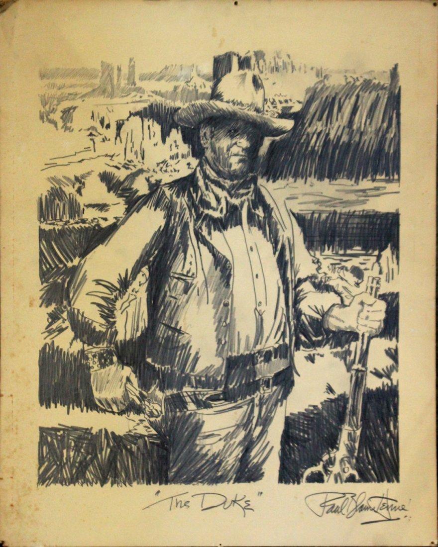 PAUL BLAINE HENRIE Original ILLUSTRATION ART - THE DUKE