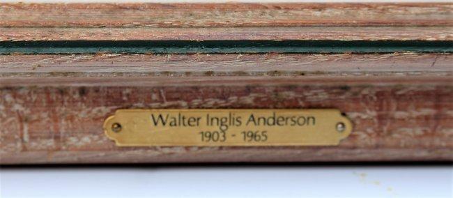 WALTER INGLIS ANDERSON 1903-1964 Butterflies Watercolor - 3
