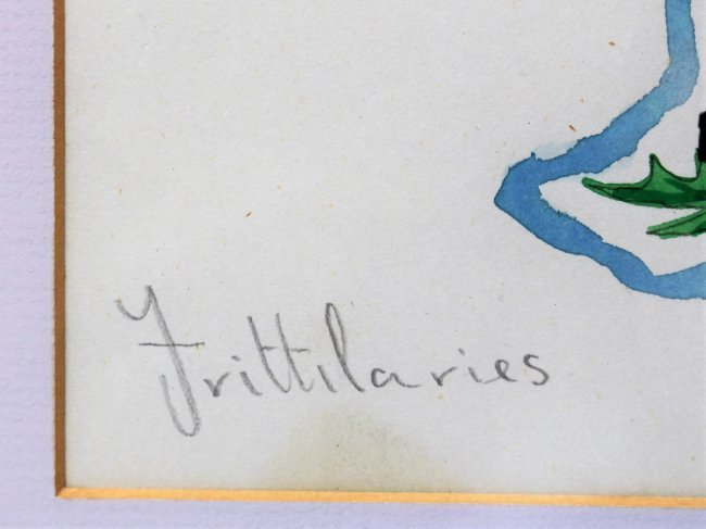 WALTER INGLIS ANDERSON 1903-1964 Butterflies Watercolor - 4