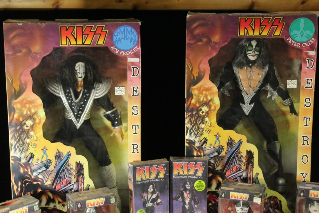 Eight [8] Assorted KISS DOLLS Unused Boxed Various Size - 5