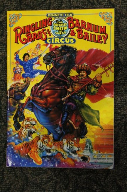 Six [6] Assorted Circus Posters Ringling Barnum Program - 6