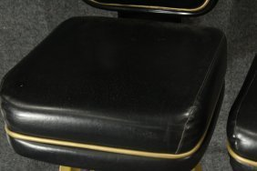Pair Original TRUMP PLAZA CASINO BAR STOOL GAME CHAIRS - 5