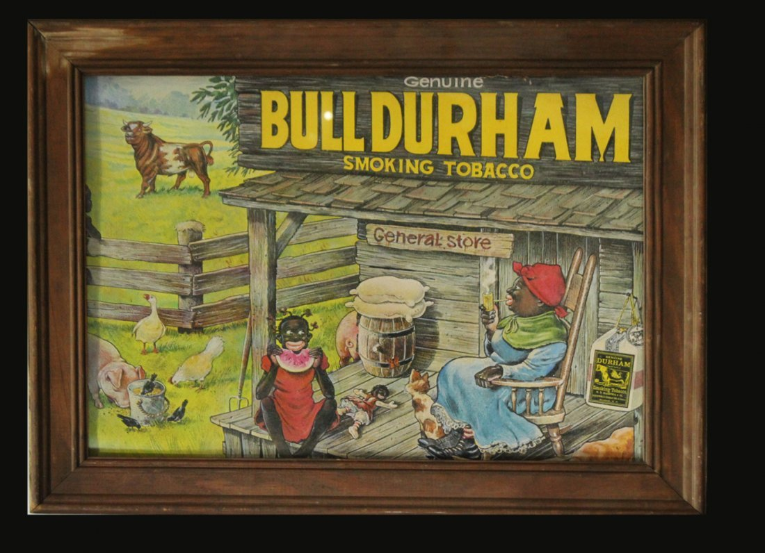 Three [3] Advertising Posters BULL DURHAM / GREEN RIVER - 3