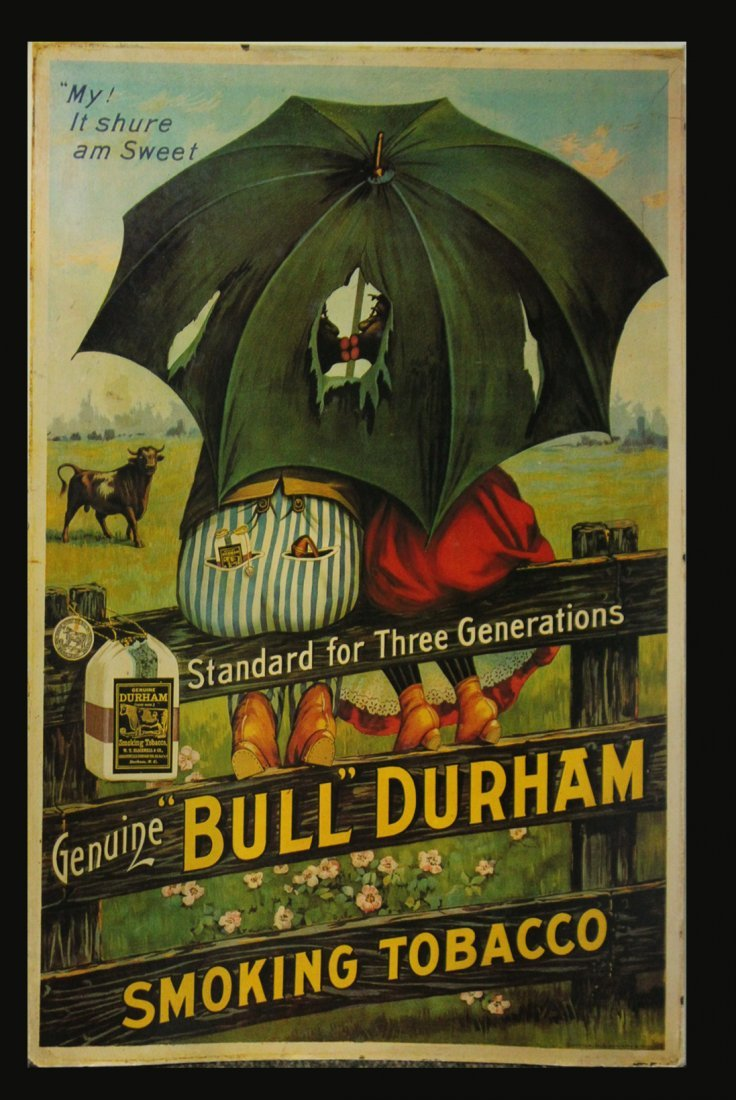 Three [3] Advertising Posters BULL DURHAM / GREEN RIVER - 4