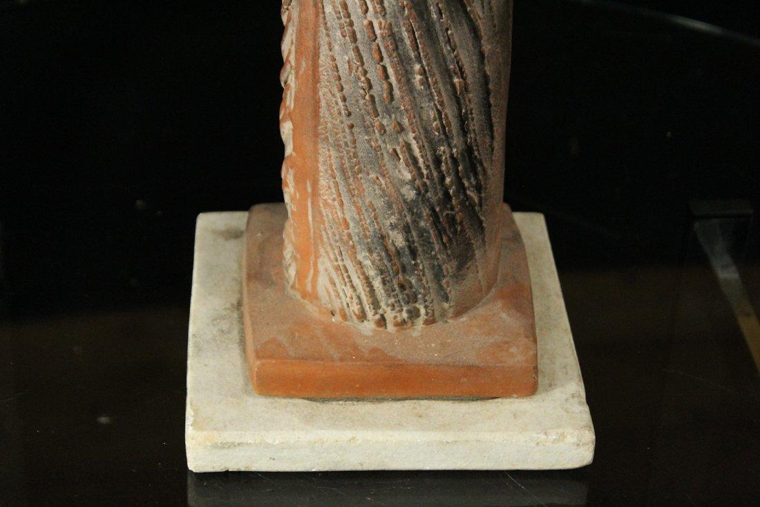 Mid-Century Modern TERRA COTTA SCULPTURE - METAMORPHIC - 3