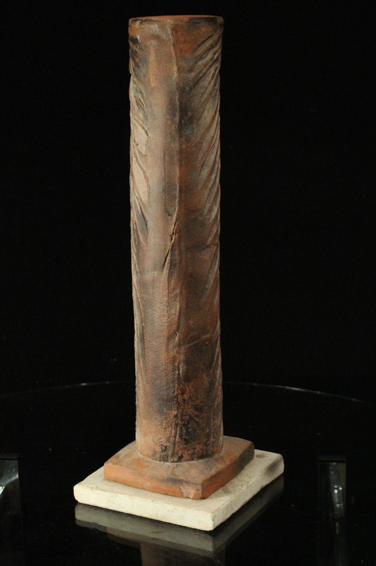 Mid-Century Modern TERRA COTTA SCULPTURE - METAMORPHIC - 4