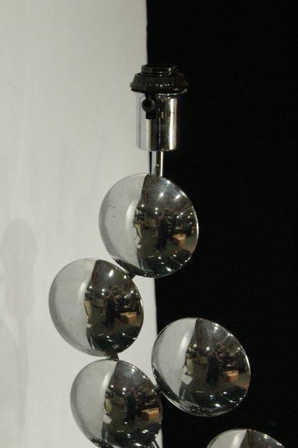 Modern Design Chrome Multi Circles Table Lamp - 4
