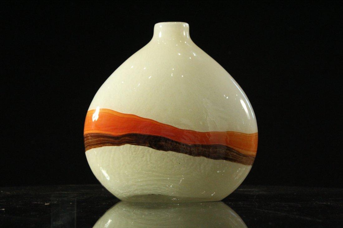 Mid-Century Modern STUDIO ART GLASS VASE