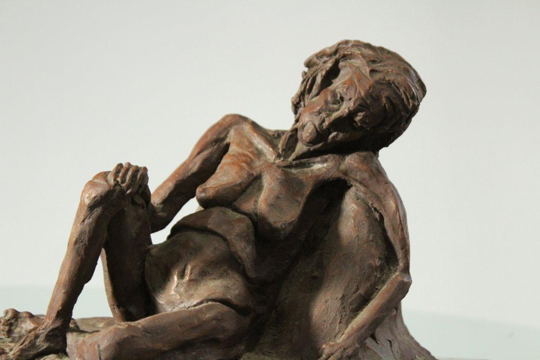 CAROLE DOERLE Bucks County Pa Sculptor FEMALE SCULPTURE - 2