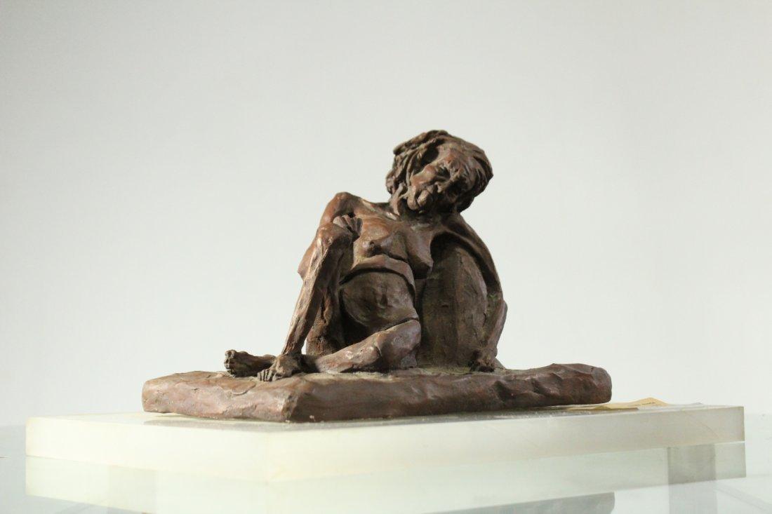 CAROLE DOERLE Bucks County Pa Sculptor FEMALE SCULPTURE - 4