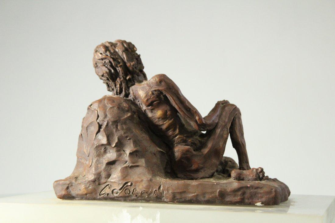 CAROLE DOERLE Bucks County Pa Sculptor FEMALE SCULPTURE - 5