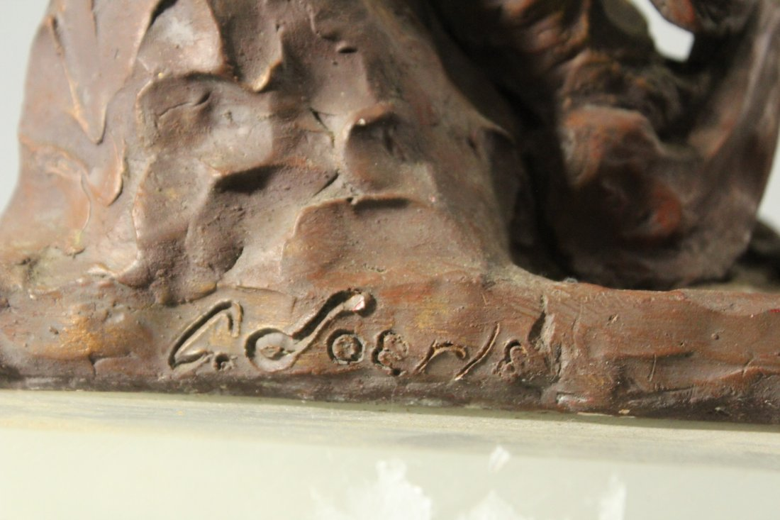 CAROLE DOERLE Bucks County Pa Sculptor FEMALE SCULPTURE - 6