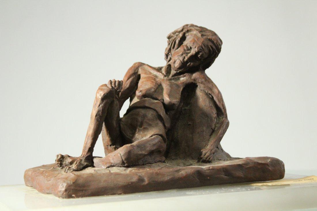 CAROLE DOERLE Bucks County Pa Sculptor FEMALE SCULPTURE - 7