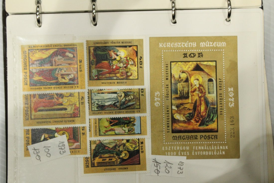 Grouping of ESTATE STAMP ALBUMS - 7