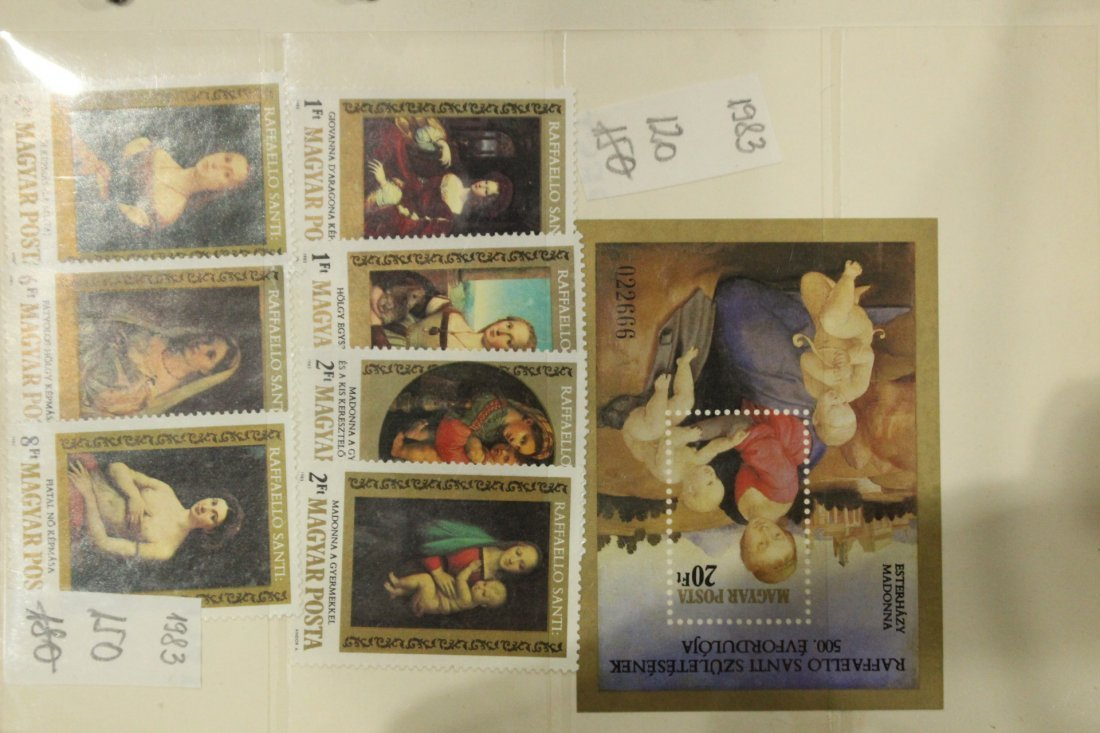 Grouping of ESTATE STAMP ALBUMS - 8