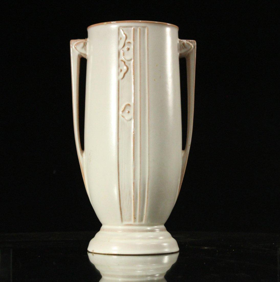 ROSEVILLE Pottery ART DECO 2-Handled Vase