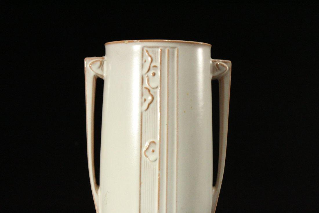 ROSEVILLE Pottery ART DECO 2-Handled Vase - 2