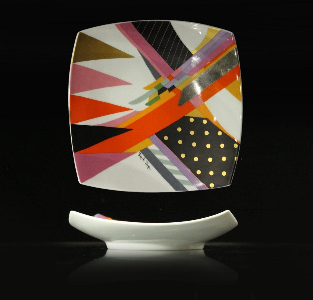 ROSENTHAL Mid-Century Modern Design Porcelain Plate