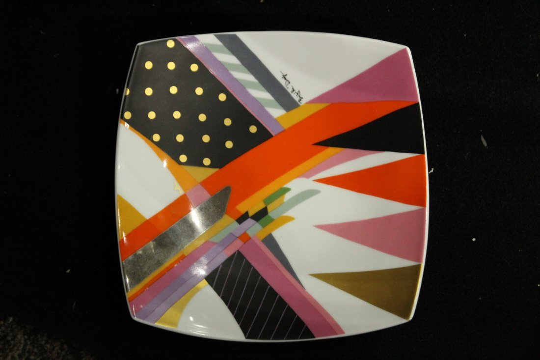 ROSENTHAL Mid-Century Modern Design Porcelain Plate - 2