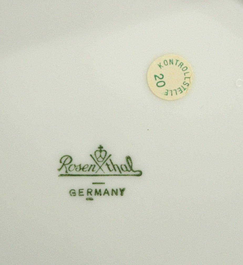 ROSENTHAL Mid-Century Modern Design Porcelain Plate - 5