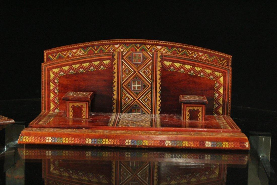 UKRAINE REPUBLIC Carved Desk Writing Set - 2