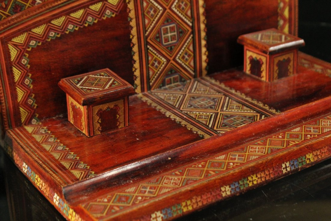 UKRAINE REPUBLIC Carved Desk Writing Set - 3