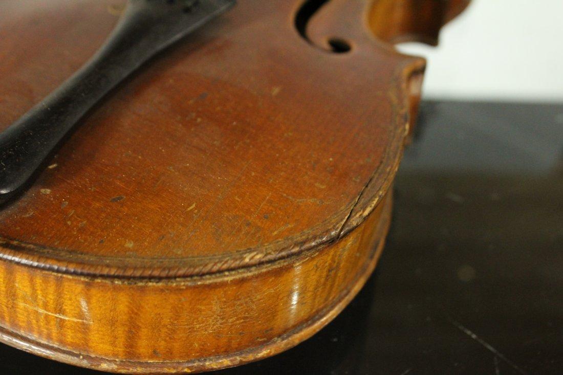 Vintage TIGER MAPLE BACK Violin - 10