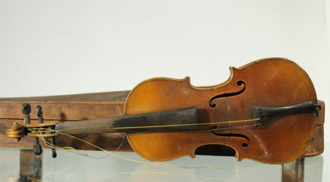 Vintage TIGER MAPLE BACK Violin