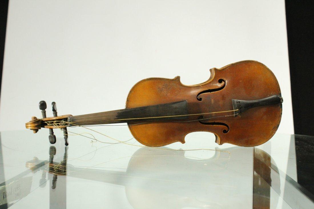 Vintage TIGER MAPLE BACK Violin - 2