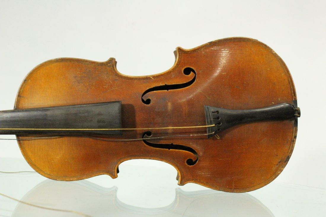 Vintage TIGER MAPLE BACK Violin - 3