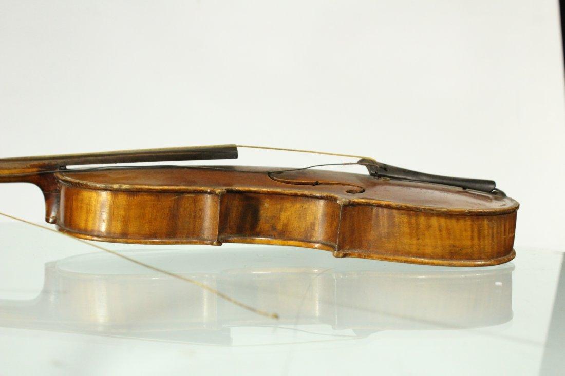 Vintage TIGER MAPLE BACK Violin - 4