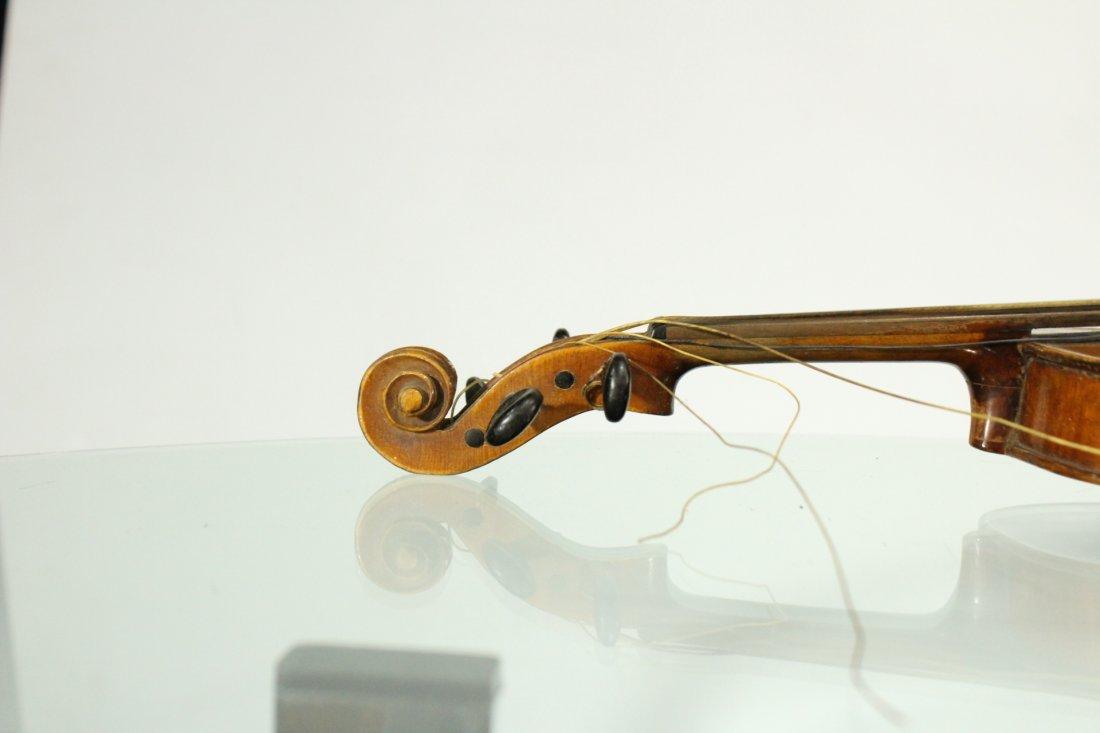 Vintage TIGER MAPLE BACK Violin - 5
