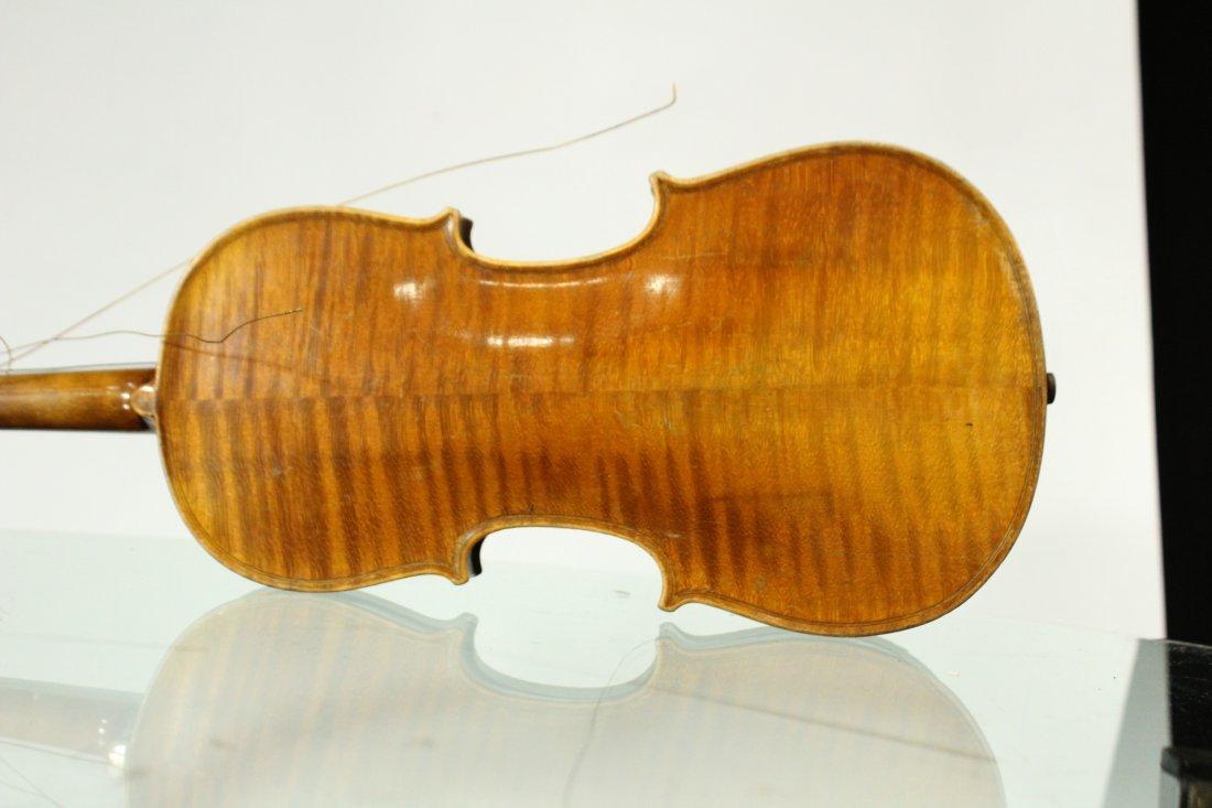 Vintage TIGER MAPLE BACK Violin - 6