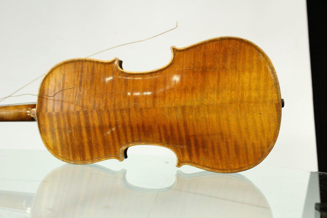 Vintage TIGER MAPLE BACK Violin - 7