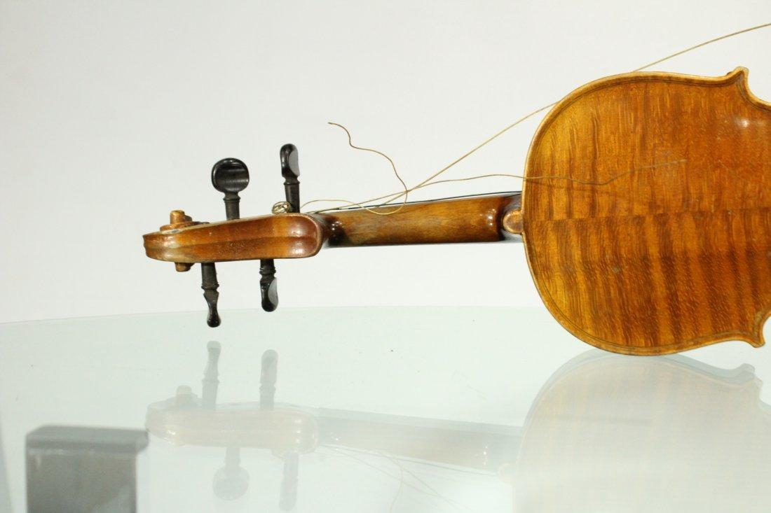 Vintage TIGER MAPLE BACK Violin - 8