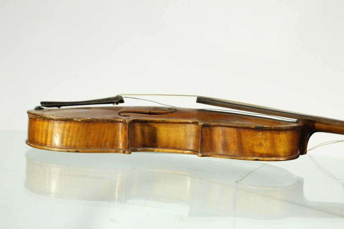 Vintage TIGER MAPLE BACK Violin - 9