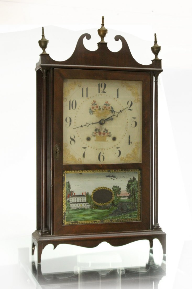 ELI TERRY / E TERRY & SONS Steeple Mantle Clock