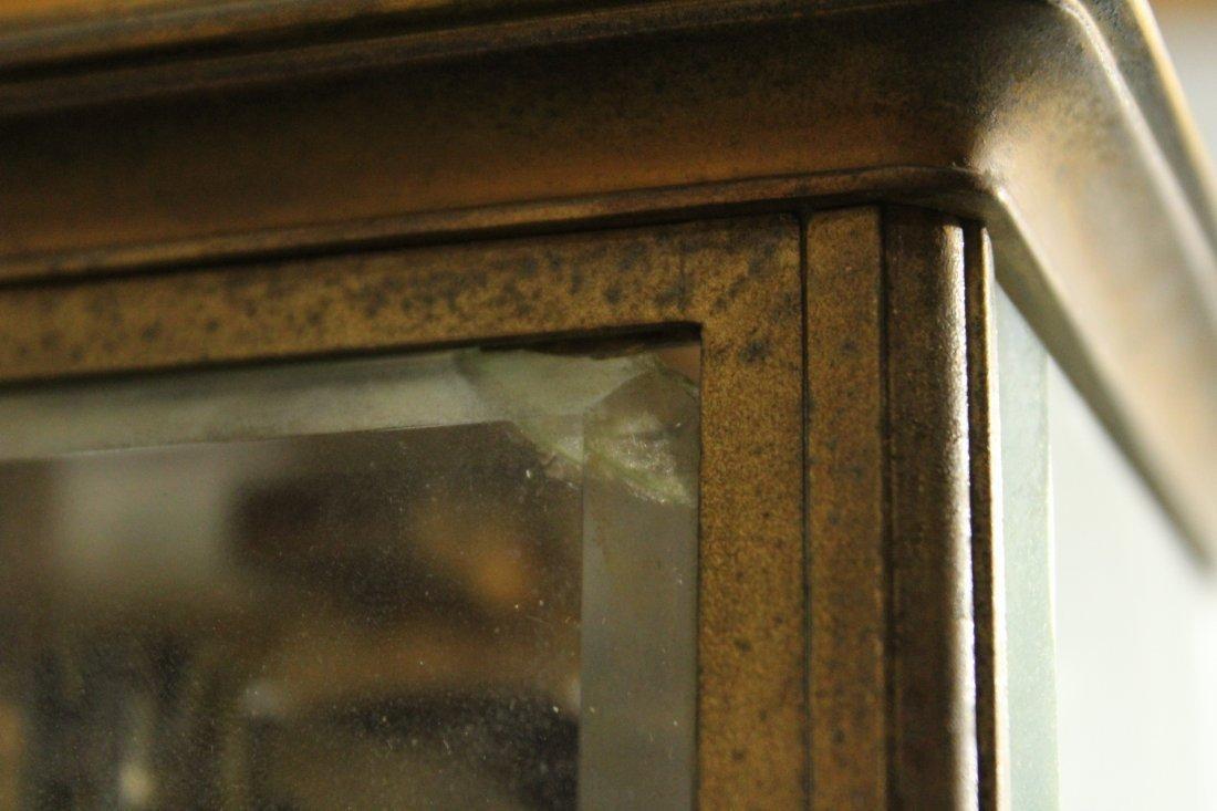 TIFFANY & CO Brass Crystal Regulator Clock - 5