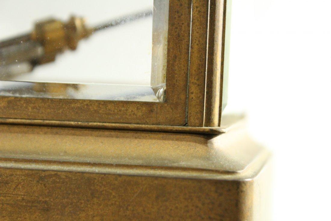 TIFFANY & CO Brass Crystal Regulator Clock - 8