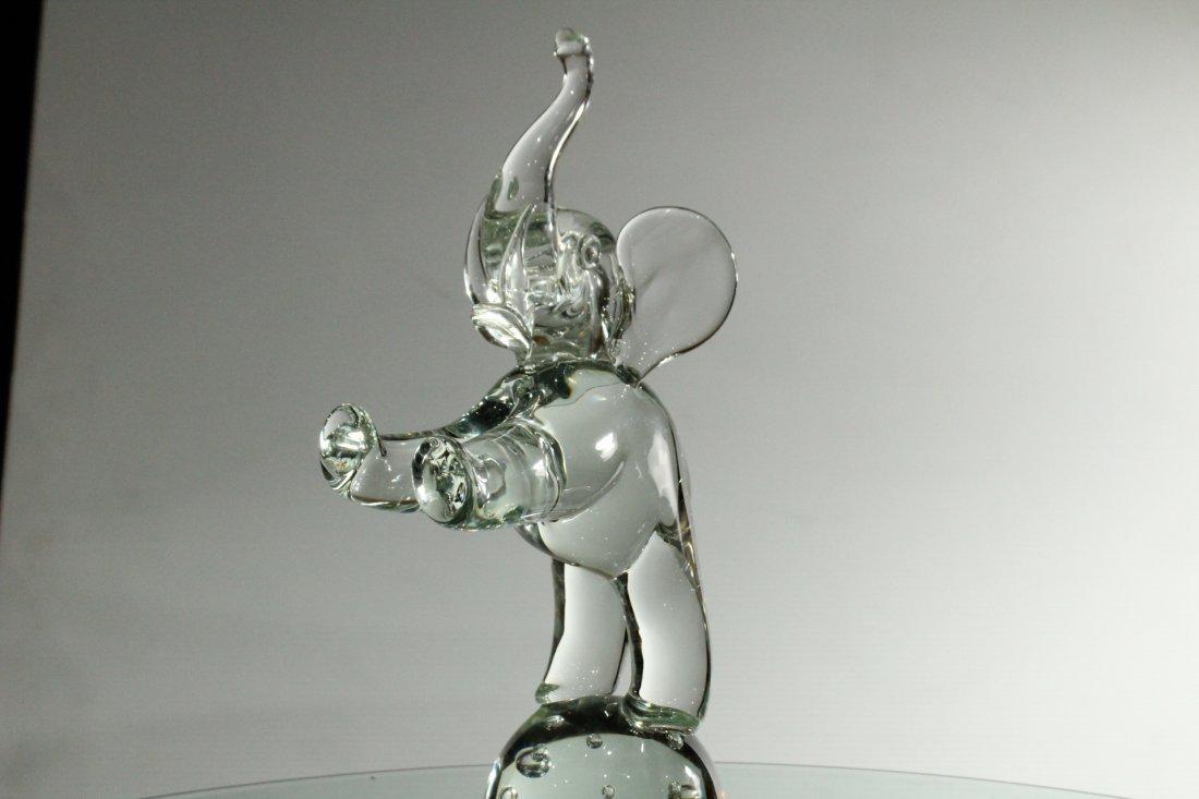 LICIO ZANETTI MURANO GLASS ELEPHANT Sculpture - 3