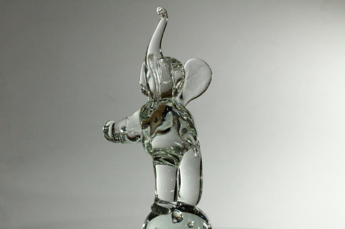 LICIO ZANETTI MURANO GLASS ELEPHANT Sculpture - 4
