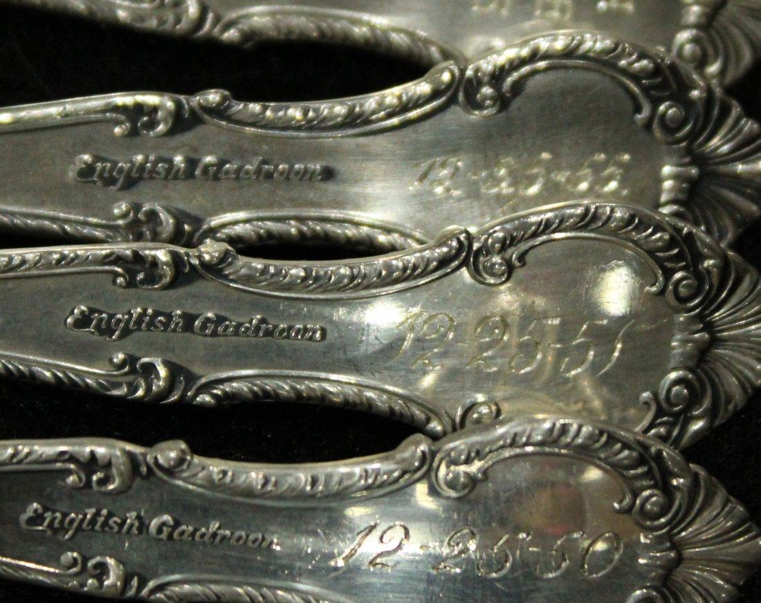 GORHAM STERLING ENGLISH GARDEN 12 Spoons; 13.23 oz. - 3
